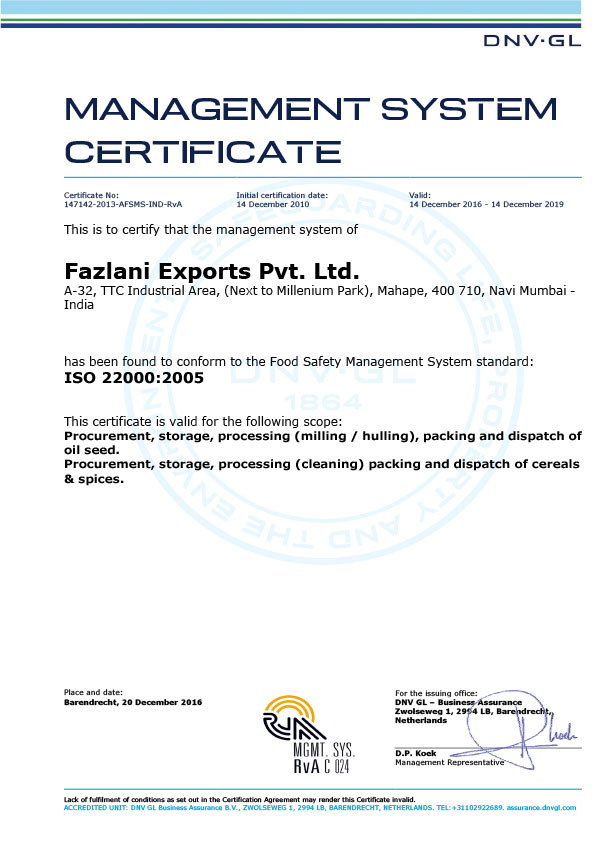 Leading Exporters of Spices and Sesame Seeds from India